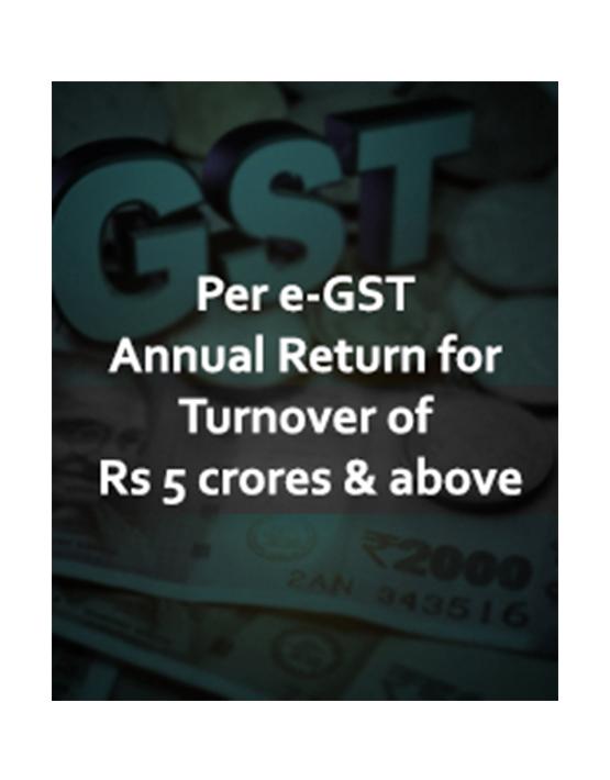 GST e-Compliances